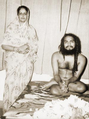 Mataji with Shivabalayogi